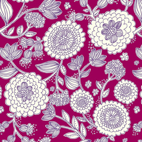 line_flower_purple