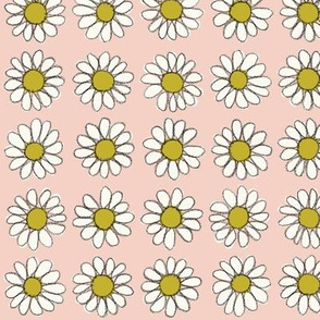 Daisy | Peachy-Pink/Gold