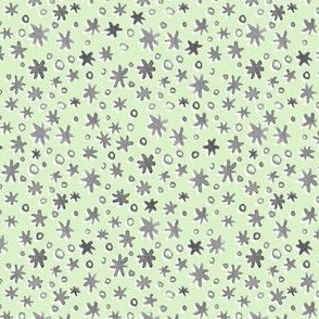 Stars and Dots | Pale Mint