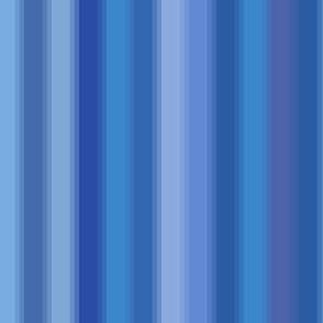 rippling blue stripes