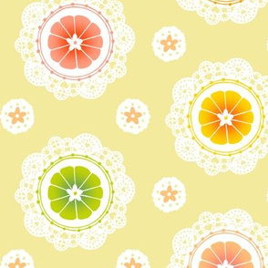 Citrus Lace (Yellow)