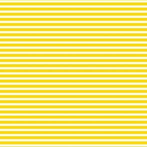 Lemon Yellow Stripe