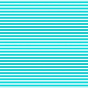 Lemon Blue-Aqua Stripe