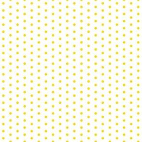 Lemon Yellow Polka Dot