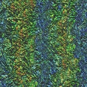 iridescent crinkle