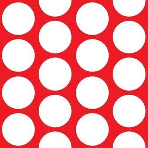 Big Dot on Red