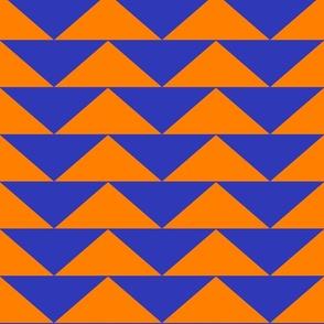 Crazy Orange and Blue