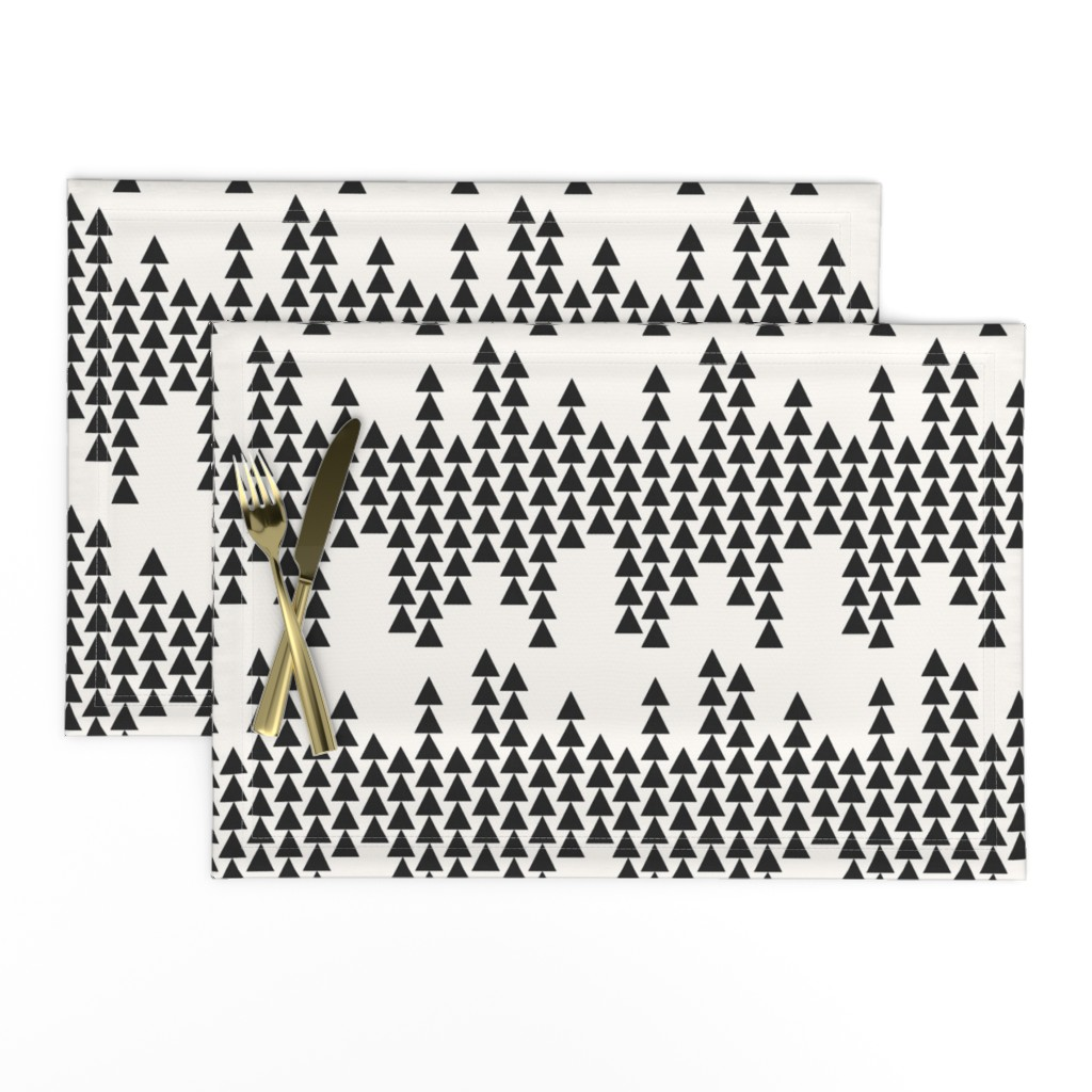 Lamona Cloth Placemats featuring arrowing by holli_zollinger