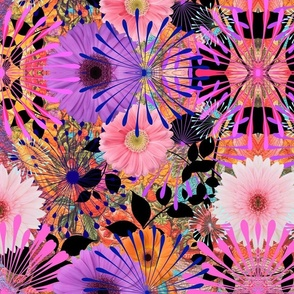 Bubble Gum Floral Extravaganza