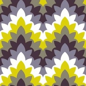 02175350 : leafy zigzag : spoonflower0197