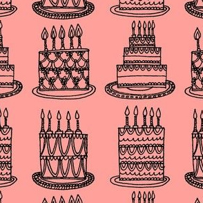 Cakes - just pink