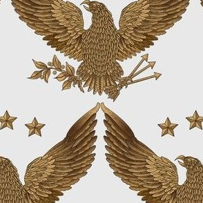 gold eagle - soft gold