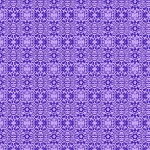 Purple Swirl Batik-ed