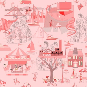 Pink Toile (5)
