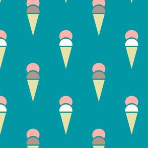 icecreamcones_teal