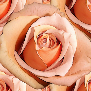Romantic Roses ~Bright ~ Very Large