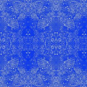 Travels Dark Coordinate Doodle Spiral Swirlygigs-ch