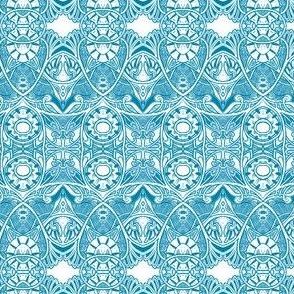 Victorian Gothic (blue line w white)