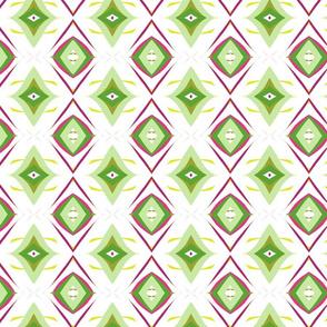 Retro Diamond in Olive