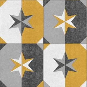 shade and shadow weathered stars gold