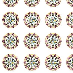 DNA Molecules 49 Mandala Polka Dots