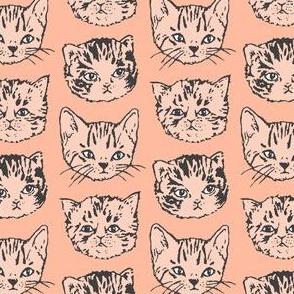 Cat Stack | Dark-Peach/Salmon