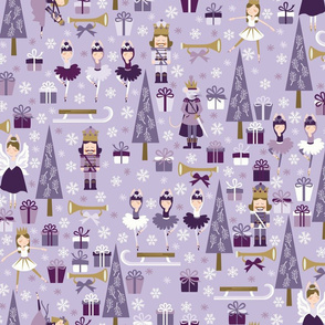 The Nutcracker in Purple