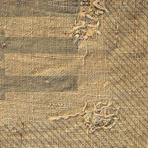 Feed Sack- natural fibers, large scale