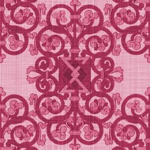 Celtic Knot ~ Berry Linen