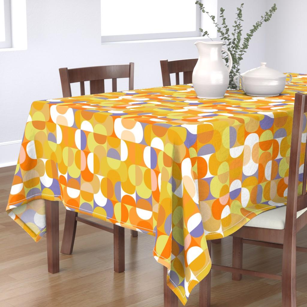 Bantam Rectangular Tablecloth featuring lemon-jello-01b by kurtcyr