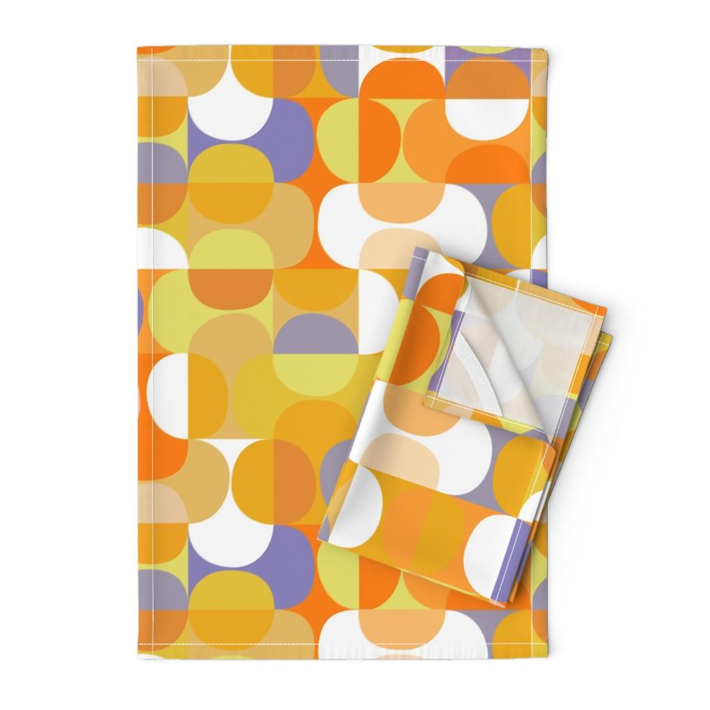 Orpington Tea Towels featuring lemon-jello-01b by kurtcyr