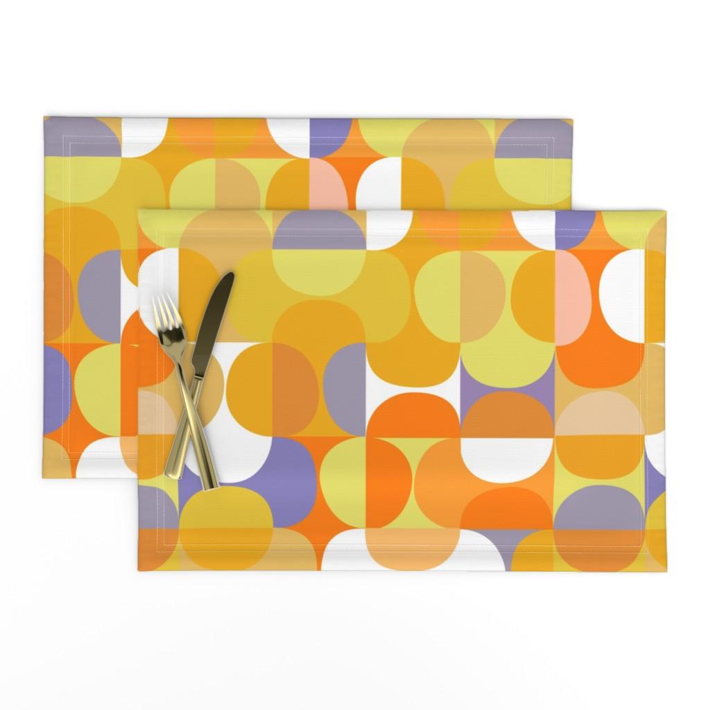 Lamona Cloth Placemats featuring lemon-jello-01b by kurtcyr