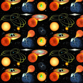 ASTRONOMY montage, Stars & Space #3