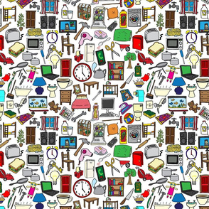 Household Items Pattern