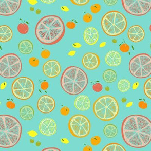 a citrus summer day