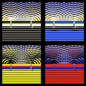 Double Slit Physics Experiment