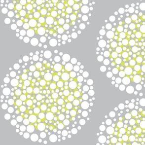White and Yellow Firecracker