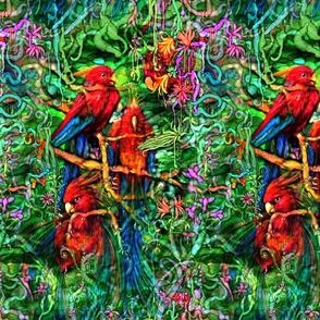 Qualia's Jungle Parrots