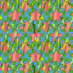 star contrast melon fields