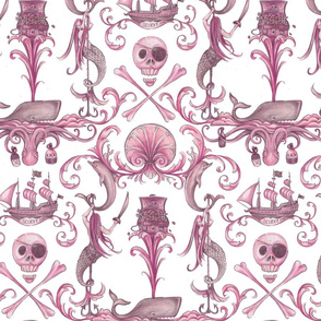 Rococo and a Bottle of Rum, Rose