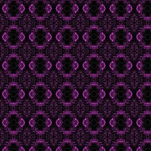 Purple unique flower