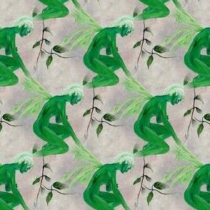 Minty Fairy Fabric