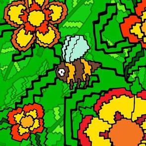 8-Bit Pixel Garden