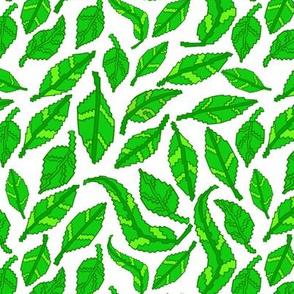8-Bit Pixel Leaves