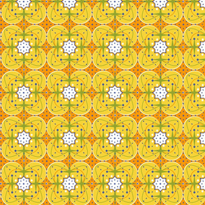 Retro Space Age Tiles