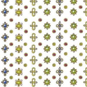 colored stones