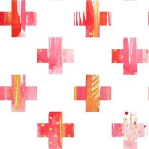 Watercolor Plus in Pinks