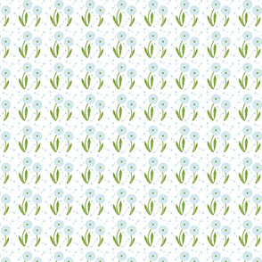 Dandelion Delirium-Light Blue-ch