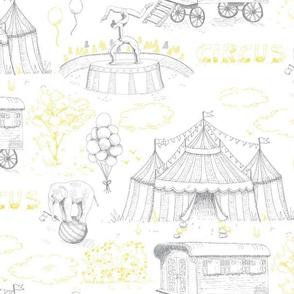 Circus Toile De Jouy Pantone 2021