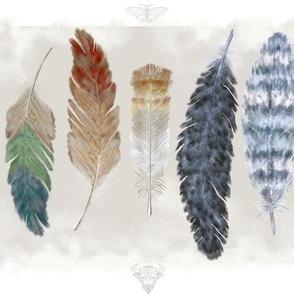 Feather Border Panels